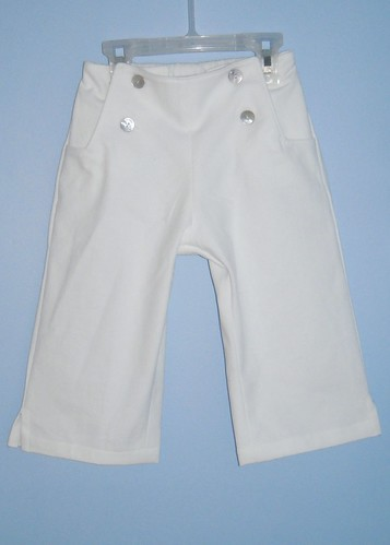 White Sailboat Pants