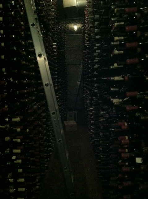Wine Cellar at Bern's Steakhouse