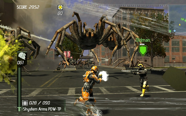 Earth Defense Force: Insect Armageddon: WOLF SPIDER