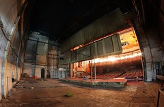 Back Stage (slaterspeed) Tags: cinema abandoned globe theatre decay bingo derelict stockton ue tees urbex