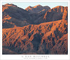 Lower Slopes of Tucki Mountain, Dawn (G Dan Mitchell) Tags: california park morning pink light red cliff usa mountain nature face yellow rock sunrise landscape death dawn spring desert bright stock canyon ridge national valley strata northamerica jagged lower range slope rugged gully panamint arete tucki