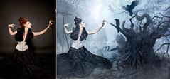 Gothic Crow Fairy