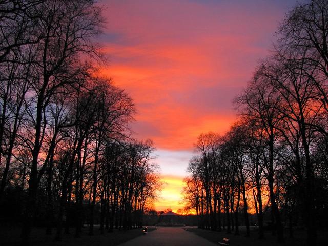 Wild sunset sky !