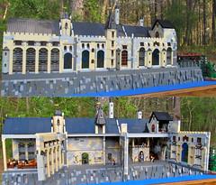 Hogwarts Closed & Open Combined (Imagine) Tags: castle toy toys lego harrypotter minifig hogwarts playable foitsop imaginerigney