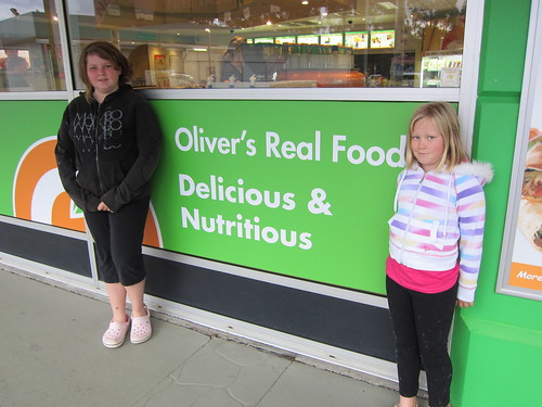 Breakfast stop at Olivers