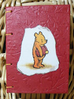 Silly bear mini journal