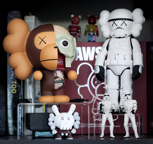 KAWS Dunny on Display.