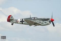 G-BWUE - 223 - The Real Aeroplane Company - Hispano HA.1112-M1L Buchon - 090712 - Duxford - Steven Gray - IMG_3251
