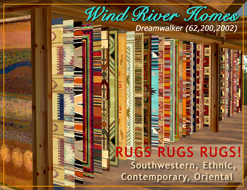 Rugs!!! by Teal Freenote