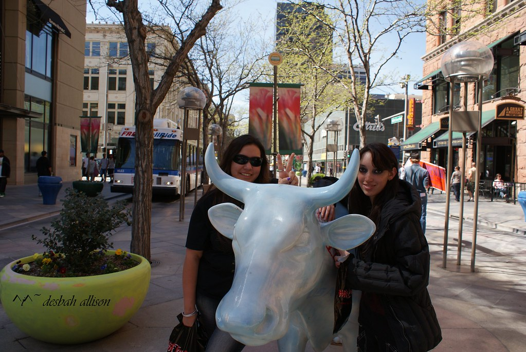 ~ my beautiful angels in downtown denver in spring ~