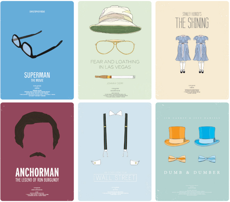 Modern Movie Posters (1)