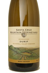 2005 Santa Cruz Mountain Vineyards McDowell Valley Vineyard Durif