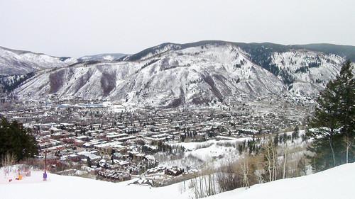 Vista de Aspen desde Aspen Mountain