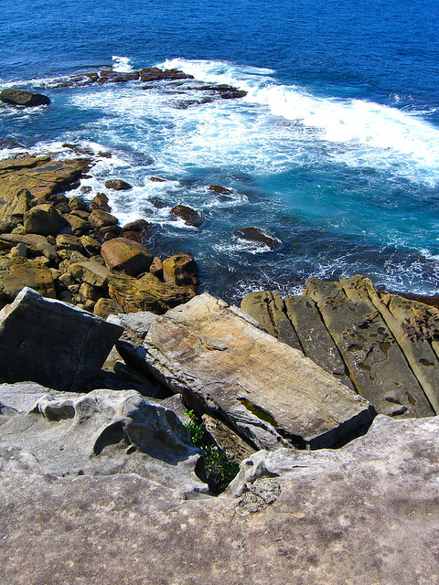 Cliffs at South Head