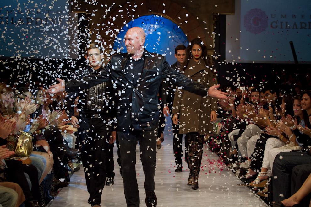 Gilardini cierra el Asunción Fashion Week con el último desfile del evento, un verdadero espectáculo, el día domingo 10 de Abril. (Tetsu Espósito - Asunción, Paraguay)