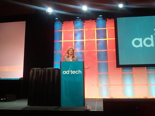 Google Alert! Arianna Huffington, At AdTech, Believes In Blogs