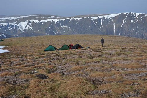 Camp on Braeriach