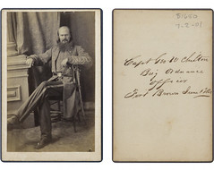 "Capt Geo - W Chilton Brig Ordnance officer Fort Brown June 1"" 1863 (SMU Central University Libraries) Tags: army captains texas confederate civilwar states csa confederates georgechilton"