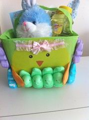 Peeps Easter basket