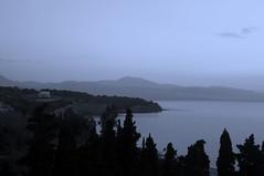 Sunrise over Gulf of Corinth (skihippy74) Tags: sea sunrise corinth greece fieldtrip loutraki kalamaki korinth