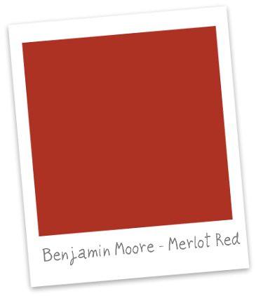 Ben Moore Merlot Red