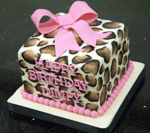 Sensational Leopard Print Birthday Cake Toronto A Photo On Flickriver Funny Birthday Cards Online Aeocydamsfinfo