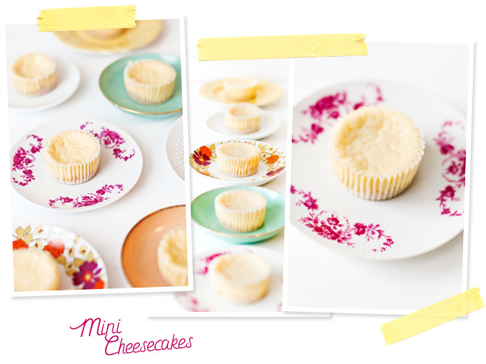 New York Mini Cheesecakes