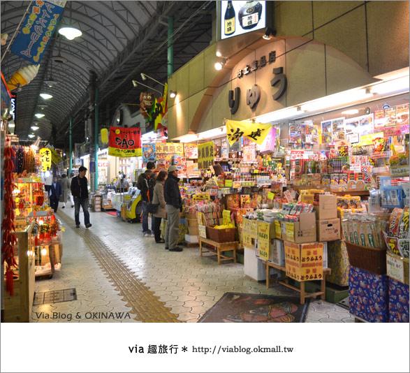 【沖繩必買】跟via到沖繩國際通+牧志公設市場血拼、吃美食!14