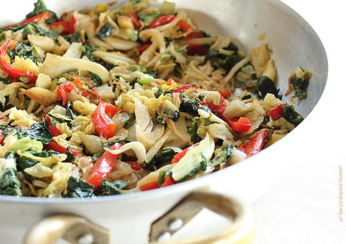 verdure miste in teglia