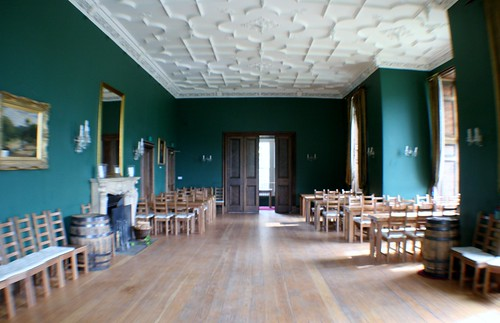 Inside Castle Menzies