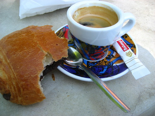 Morning espresso & patisserie
