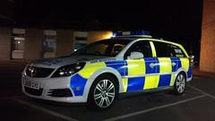 HERTS POLICE TRAFFIC CAR (NW54 LONDON) Tags: police 999 policecars emergencyvehicle vauxhallvectra anpr hertfordshirepolice
