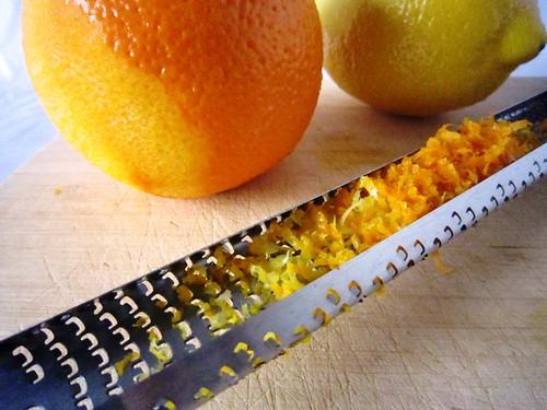 Zesting a lemon and orange, take two