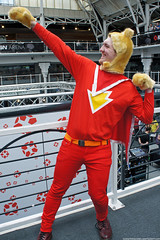 Kapow! Comic Con : Cosplay - Super Ted by Craig Grobler