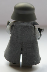 German Offizer in Trench Coat (BRiCKiZiMO) Tags: trenchcoat ww2 weapons brickarms mmcbcapes brickizimo germanoffizer