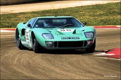 Ford GT 40 verd (Miniyo95) Tags: ford vintage racing coche lemans montjuic carreras sportscar montjuich montmelo gt40 deportivo clásico fordgt40 cochedeportivo miniyo95 clasicsportscar
