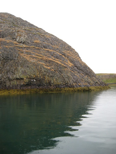 Salida en barco por Stykkishólmur