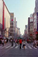Pedestrian precinct@Ginza.