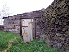 Rural shed (scrappy annie) Tags: building rural yorkshire shed drystone stocksbridge