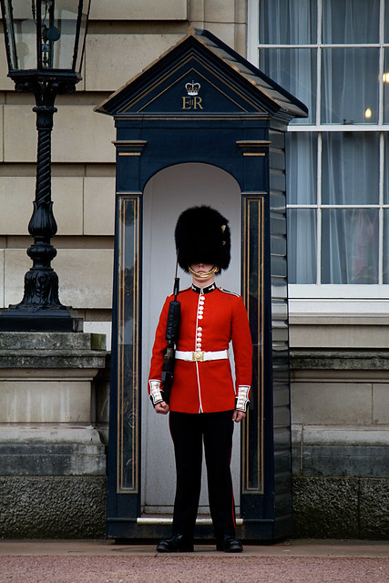 london - buckingham soldier