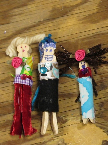 Clothespin Dolls 25 PARTY Animals!