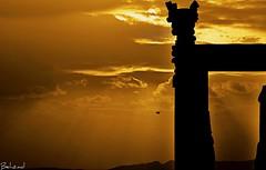 Persepolis (Behzad No) Tags: sunset sun clouds persian iran shiraz iranian persepolis fars apadana parseh nikond90 behzadno