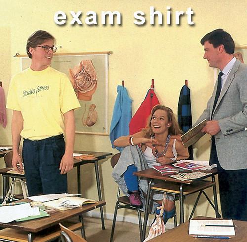 exam shirt
