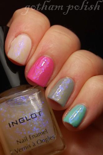Inglot 204 mixed