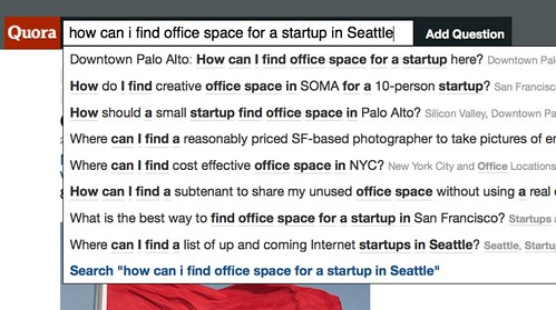 how can i find office space for a startup in Seattle?