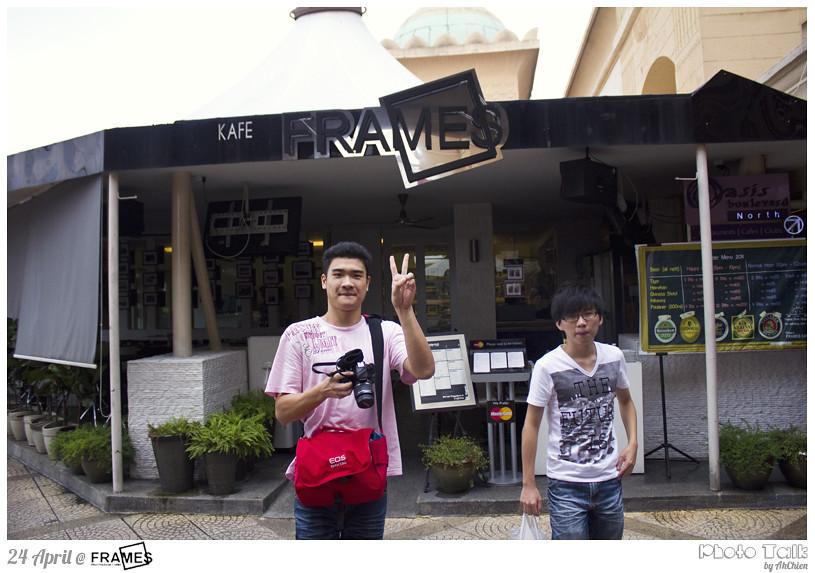 bye~ Frames Cafe =)