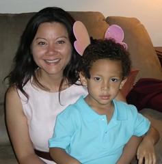 Mommy & David
