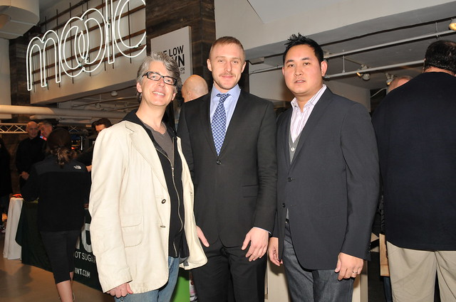 l-r-buxton mydyette vp marketing supima, chris frye design dir. bloomingdales, robin tomas