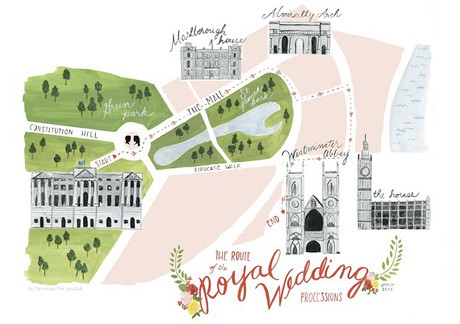 Royal Wedding Map