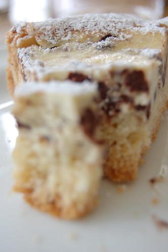 torta ricotta&cioccolato